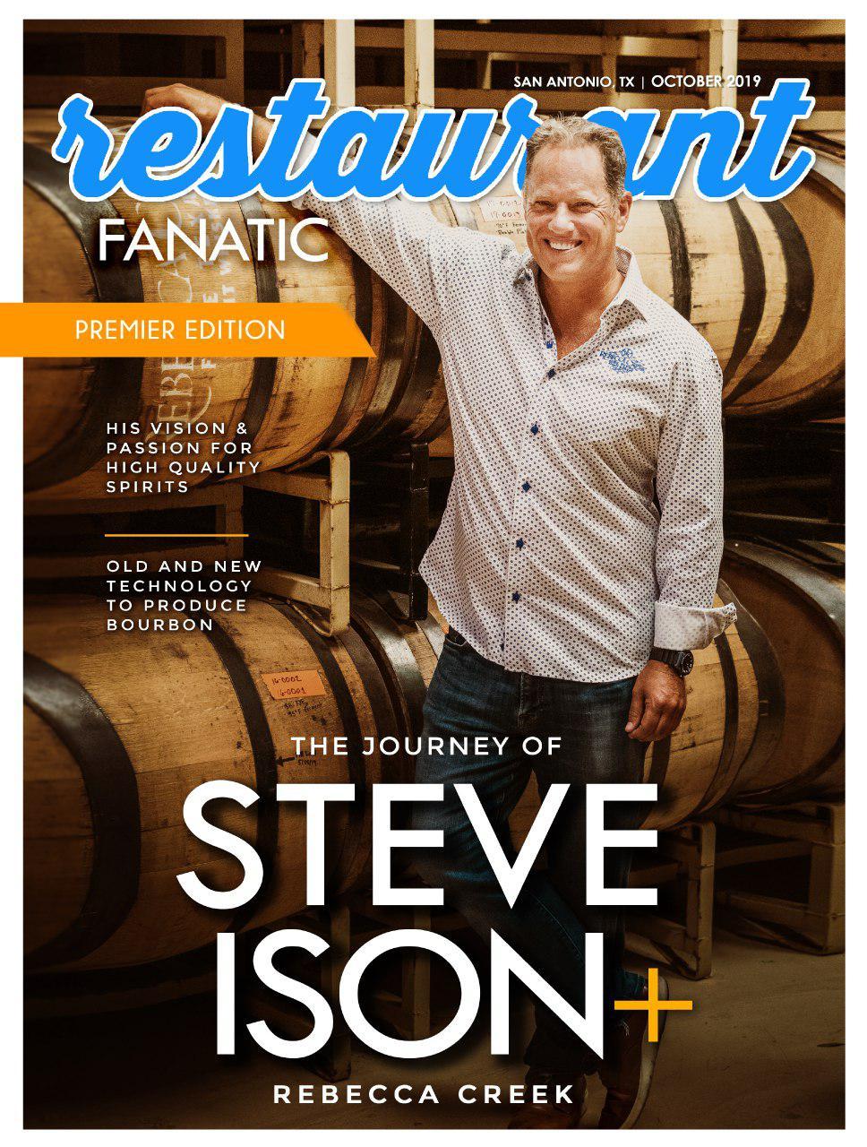 Steve Ison magazine cover